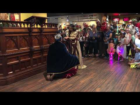 Knighting Ceremony at Medieval Times