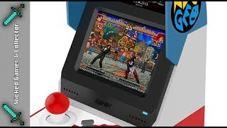 Preview / Wicked Chit Chat - Neo Geo Mini Arcade Cabinet Game Console / TableTop