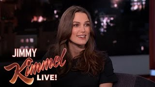 Keira Knightley on Being Pregnant at the Oscars