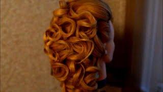 Греческая свадебная прическа | Греческая коса | Часть II