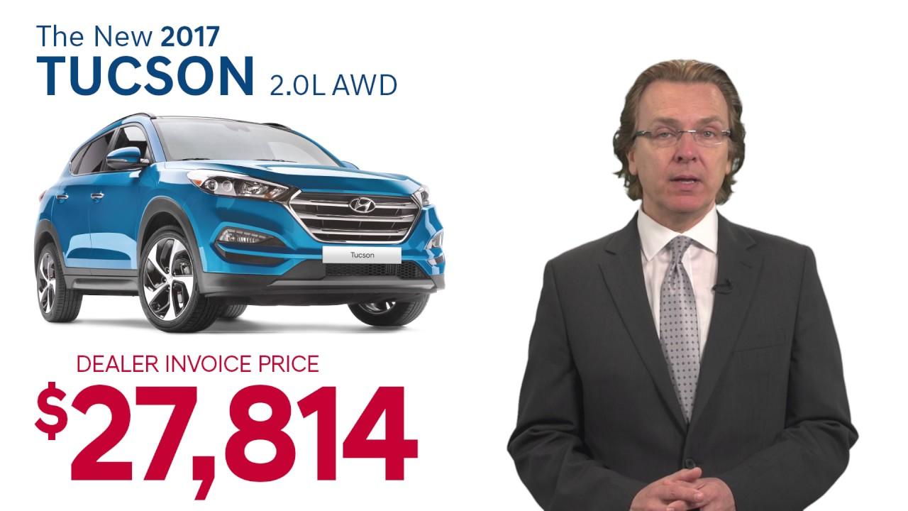 Dealer Invoice Pricing At Performance Hyundai YouTube - Hyundai tucson invoice