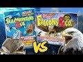 DeAgostini Seamonsters & Co vs Falcons und Co | Das Duell der Gummitiere