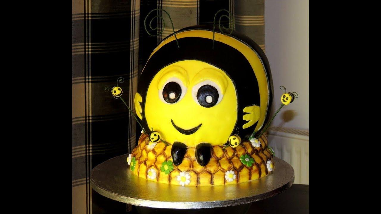 How To Make Diy Quot The Hive Buzzbee Quot Disney Birthday Cake
