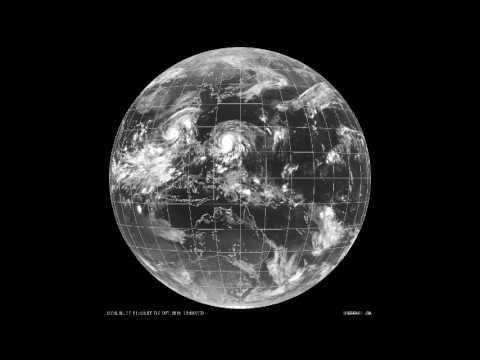 Satellite Footage Shows Typhoon Sarika Approaching Hainan YouTube - Satellite footage
