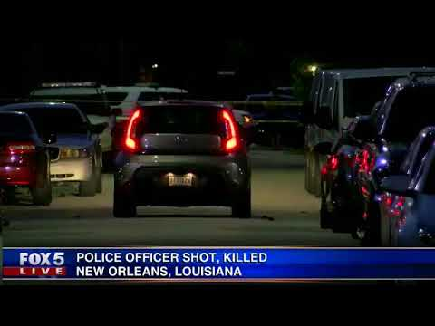 Police officer shot, killed in New Orleans