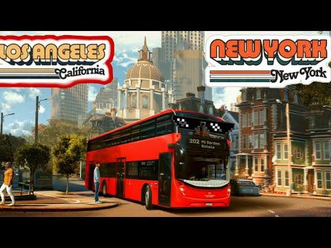 los angeles to New York bus simulator |