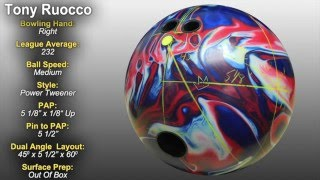 bowlingball.com Brunswick Ultimate Nirvana Bowling Ball Reaction Video Review