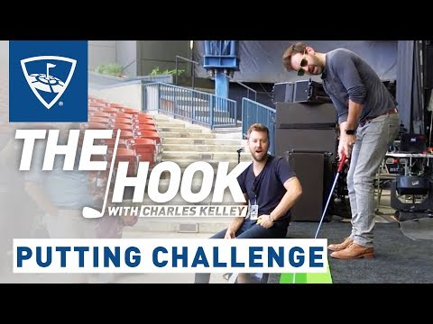 The Hook with Charles Kelley | Josh Kelley Putting Challenge | Topgolf
