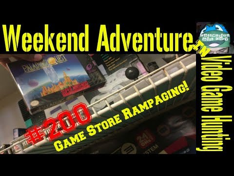 Weekend Adventure in Video Game Hunting #200: New Hampshire Game Stores!