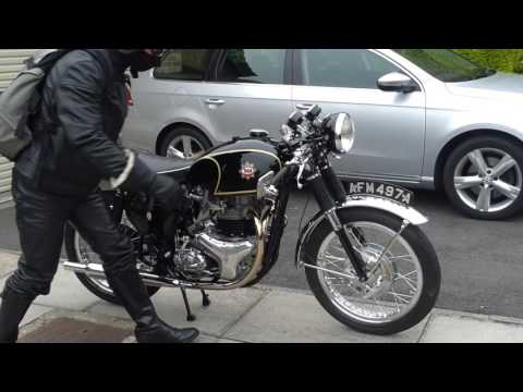 BSA rocket gold