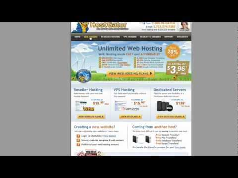 Wordpress Hosting: HostGator Reseller Account 101