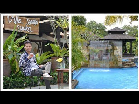 Dah macam di Bali. Dato Aliff Syukri share keunikan  Sugeh Village Country House milik beliau