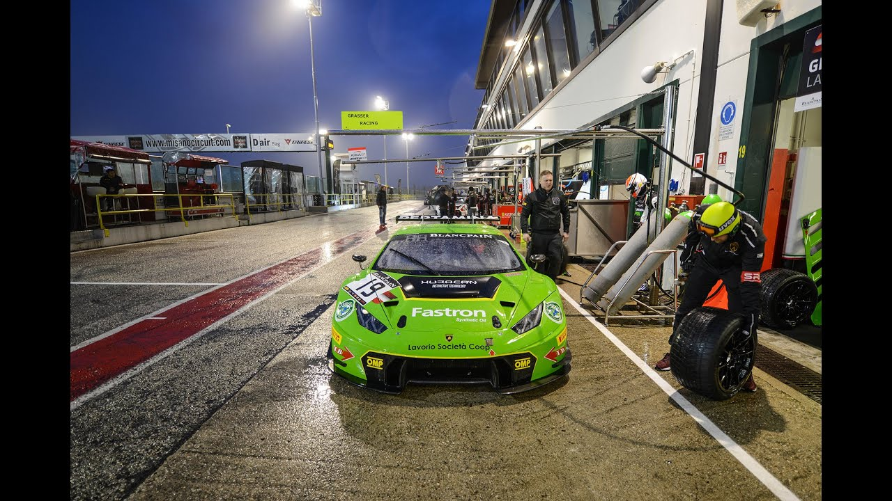 lamborghini huracan gt3 night practice misano 2016 youtube. Black Bedroom Furniture Sets. Home Design Ideas