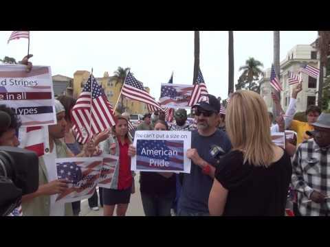 Ventura, CA  Flag Rally