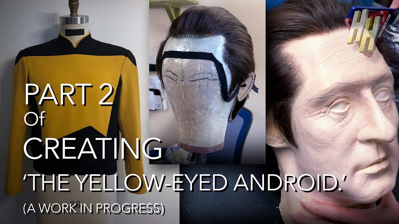'THE YELLOW-EYED ANDROID' Project: Part 2