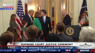 BREAKING: Justice Brett Kavanaugh Ceremony With President Trump
