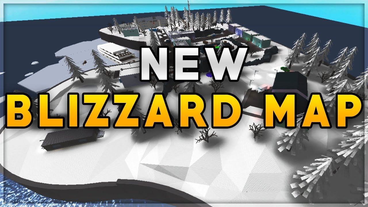 New Blizzard Map In Phantom Forces Youtube