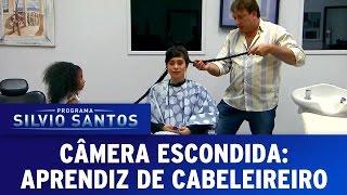 Câmera Escondida (31/07/16) - Aprendiz de cabeleireiro