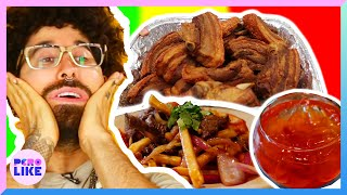 Curly Tries Latino Food In New York City