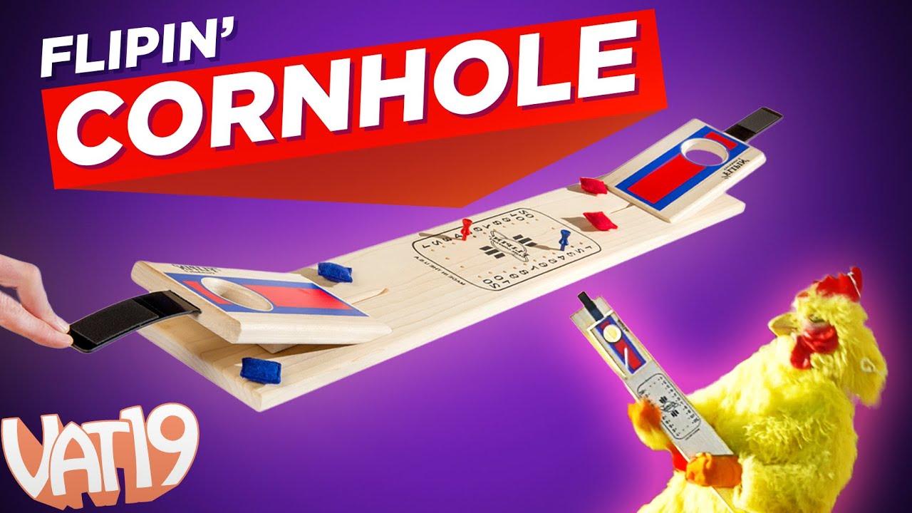 Indoor Cornhole game set!