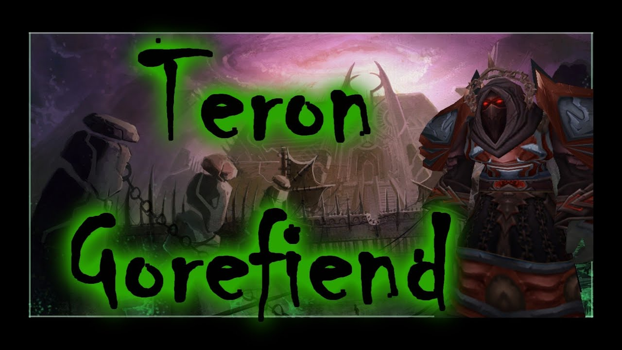 How to Solo Black Temple - Teron Gorefiend - YouTube