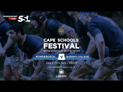 Cape Schools: Rondebosch 1st XV vs Queen's College 1st XV, 03 July