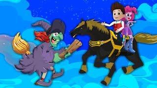 👩🏽 БАБА ЯГА та як захиститись від блискавки 🖐🏾 мультфільми на українській мові для дітей  дівчат