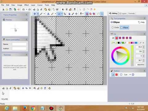 how to get yellow circle around mouse pointer