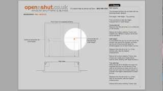 How To Measure A Window Using The 1.0 Recess Measuring PDF Guide