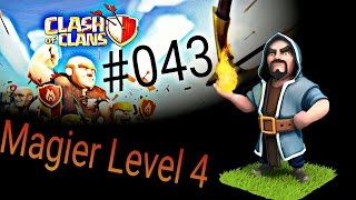 Clash of Clans Deutsch 043 Handy Magier Level 4