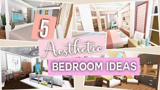 bloxburg aesthetic roblox living bedrooms bedroom hopscotchdetroit decoration interior furniture