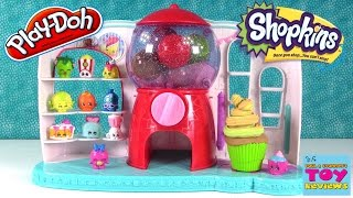 Play-Doh Shopkins Surprise Bubble Gum Eggs Hidden Kids Toys | PSToyReviews