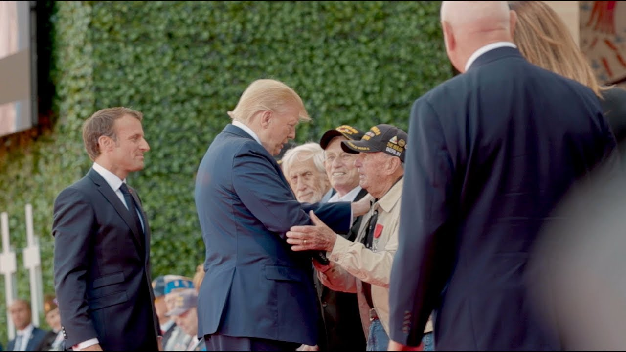 President Trump Delivers Remarks on the 75th Anniversary of D-Day