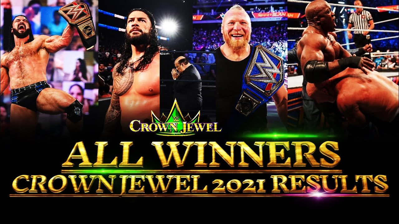 WWE Crown Jewel 2021 All Winners & Matche's Results Highlights Predictions MatchCard 08 HD