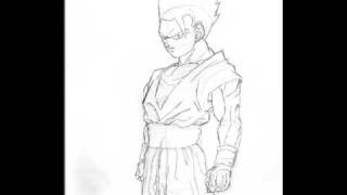Ultimate Gohan Drawing(competition with GogetaRules7)