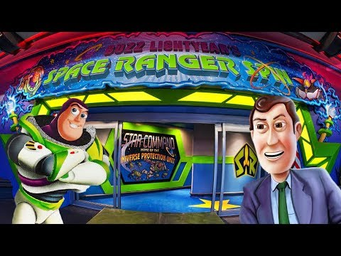 Yesterworld: The History of Buzz Lightyear's Space Ranger Spin, Astro Blasters and Planet Rescue!