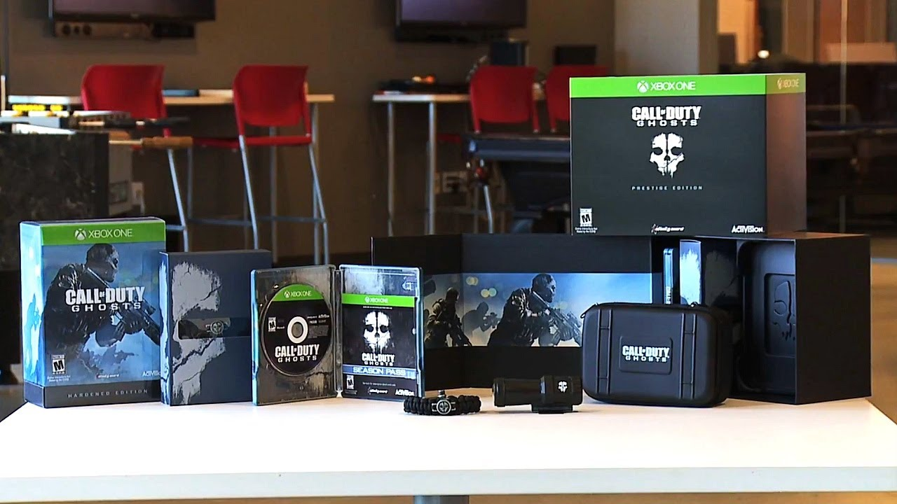 call of duty ghosts prestige edition unboxing ghost