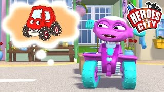 The Monster Truck - Heroes Of The City - Season 2 - EP#07   Car Cartoons   Car Cartoons