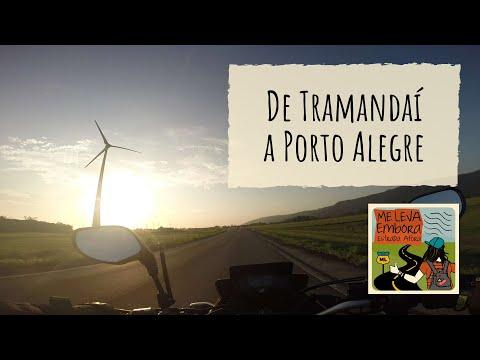 De Tramandaí a Porto Alegre em XRE 190 - esqueci o dinheiro do pedágio!