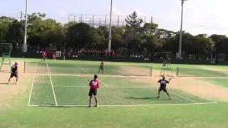 鹿児島県中学校春季ソフトテニス大会男子個人 決勝