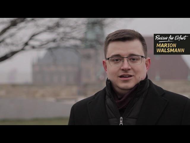 Peter Tscherny unterstützt Marion Walsmann als OB-Kandidatin für Erfurt