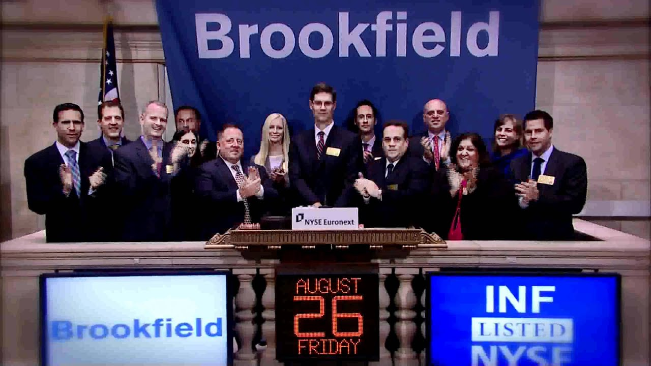brookfield investment management 26 August 2011 Brookfield Investment Management rings the NYSE ...