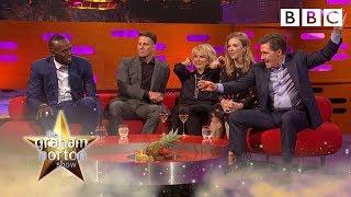 Rob Brydon and Usain bolt compare sporting achievements - BBC