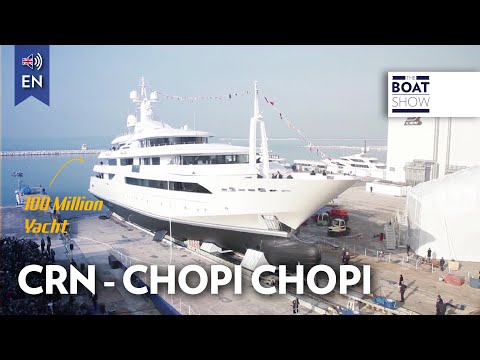 """[ENG] $100 MILLION 88m SUPERYACHT CRN """"CHOPI CHOPI"""" - Review - The Boat Show"""