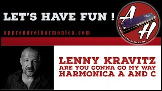 Lenny Kravitz  - Are You Gonna Go My Way - Harmonicas A and C