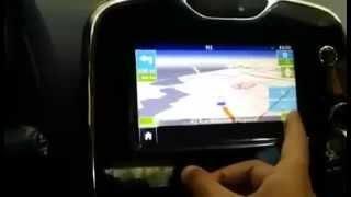 Mise a jour MediaNav (Dacia Renault) en lecteur vidéo ,GPS ,camera  de recul Clio4  (non Medi@skin)