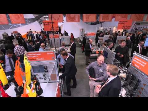 Igus Robolink D's Hannover Messe 2015 choregraphy