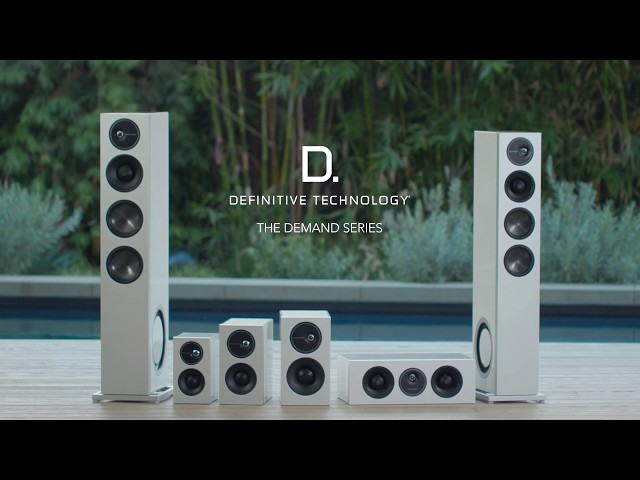 Definitive Technology — Introducing the Demand D15 Tower Speaker