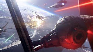 9 Minutes of Starfighter Assault Gameplay in Star Wars Battlefront 2 (1080p 60fps)