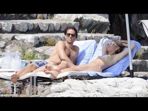Gwyneth Paltrow & Brad Falchuk relax on their romantic holiday in Positano